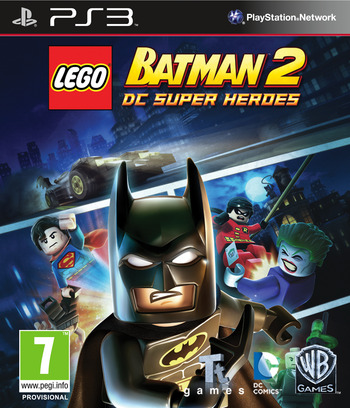LEGO Batman 2: DC Super Heroes PS3 coverM (BLES01613)