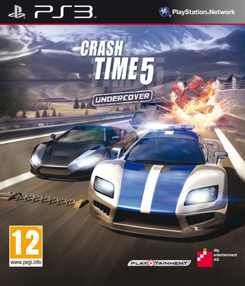 Crash Time 5: Undercover PS3 coverM (BLES01620)