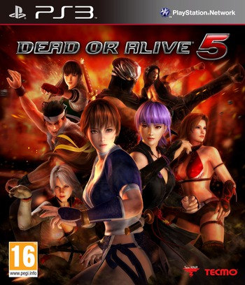 Dead or Alive 5 Array coverM (BLES01623)
