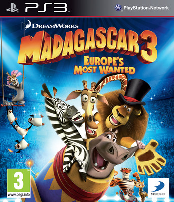 Madagascar 3: Europe's Most Wanted PS3 coverM (BLES01624)