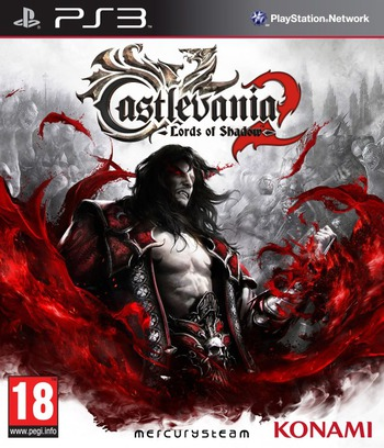 Castlevania: Lords of Shadow 2 PS3 coverM (BLES01644)