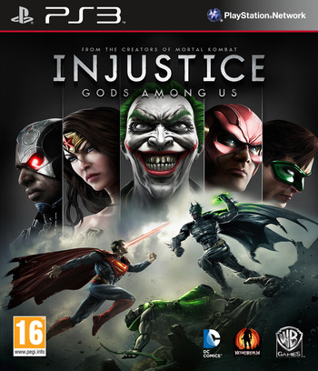 Injustice : Gods Among Us (Special Edition) PS3 coverM (BLES01673)