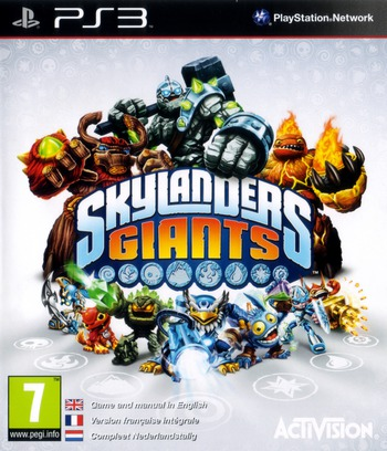 Skylanders Giants PS3 coverM (BLES01689)