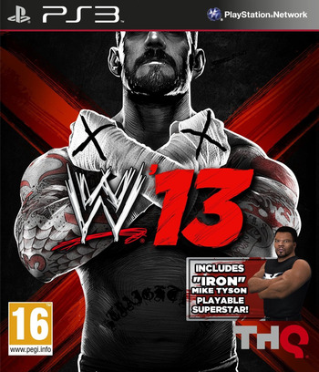 WWE '13 PS3 coverM (BLES01699)