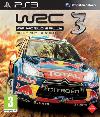 WRC 3: FIA World Rally Championship PS3 coverM (BLES01721)