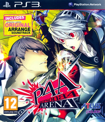 Persona 4 Arena PS3 coverM (BLES01738)