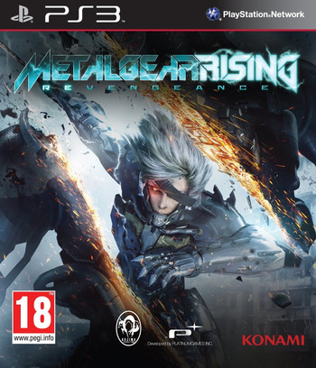 Metal Gear Rising: Revengeance PS3 coverM (BLES01750)
