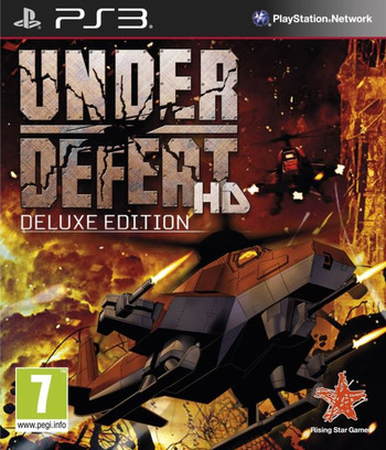 Under Defeat HD (Deluxe Edition) PS3 coverM (BLES01752)