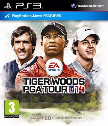 Tiger Woods PGA Tour 14 PS3 coverM (BLES01754)