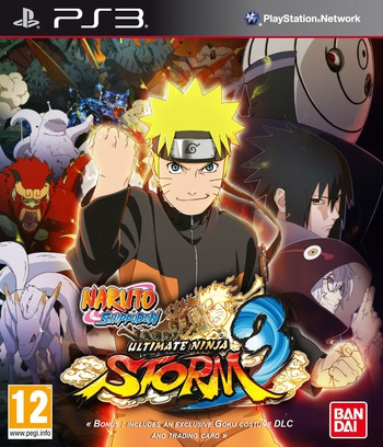 Naruto Shippuden: Ultimate Ninja Storm 3 PS3 coverM (BLES01764)