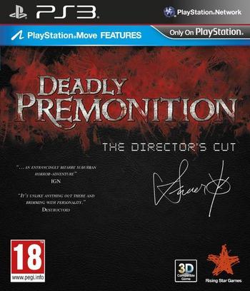 Deadly Premonition The Directors Cut PS3 coverM (BLES01776)