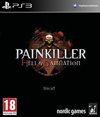 Painkiller: Hell & Damnation PS3 coverM (BLES01791)
