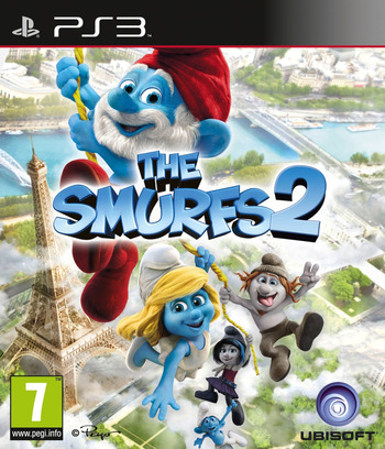 The Smurfs 2 PS3 coverM (BLES01797)