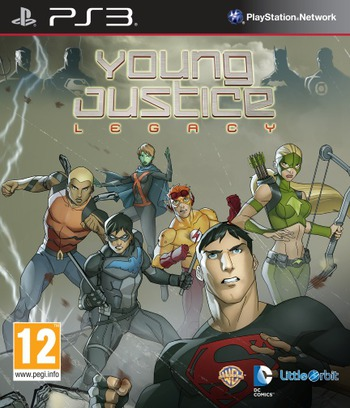 Young Justice: Legacy PS3 coverM (BLES01808)