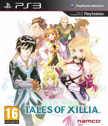 Tales of Xillia PS3 coverM (BLES01815)