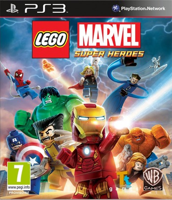 LEGO Marvel Super Heroes PS3 coverM (BLES01831)