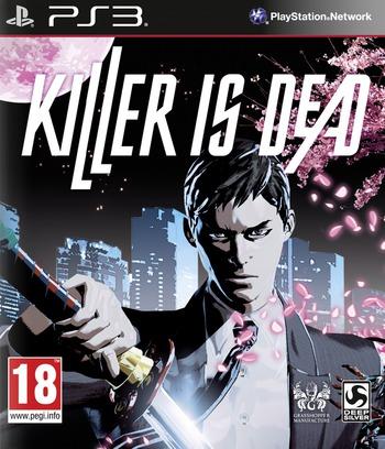 Killer is Dead PS3 coverM (BLES01856)