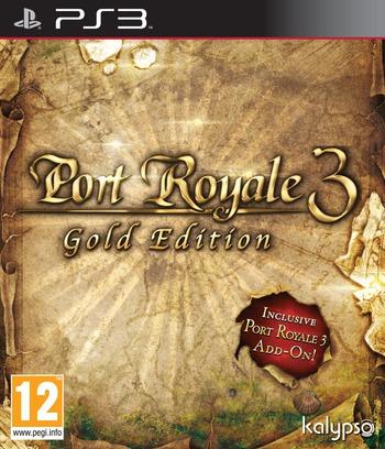 Port Royale 3: Gold Edition PS3 coverM (BLES01868)