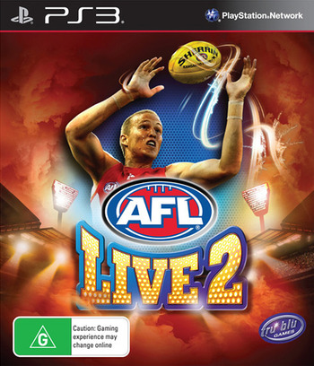 AFL Live 2 PS3 coverM (BLES01875)