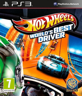 Hot Wheels: World's Best Driver PS3 coverM (BLES01881)