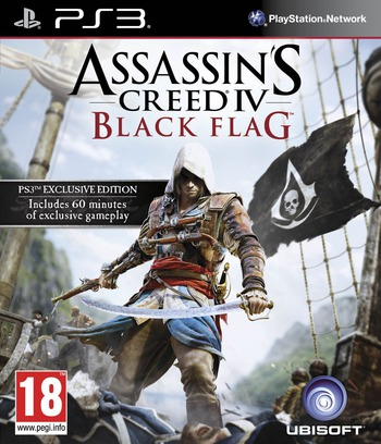 Assassin's Creed IV: Black Flag PS3 coverM (BLES01882)