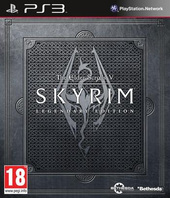 The Elder Scrolls V: Skyrim (Legendary Edition) PS3 coverM (BLES01885)