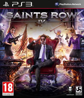 Saints Row IV PS3 coverM (BLES01889)