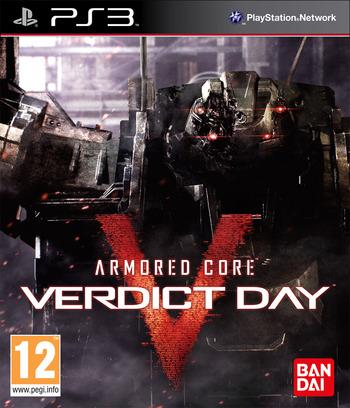 Armored Core: Verdict Day Array coverM (BLES01898)
