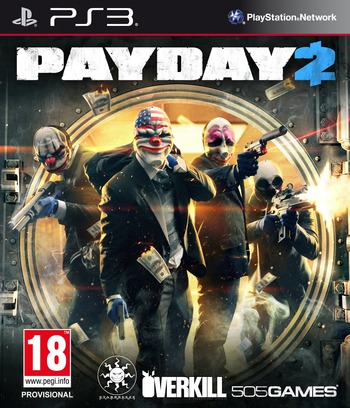 Payday 2 PS3 coverM (BLES01902)
