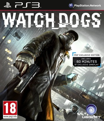 Watch Dogs PS3 coverM (BLES01933)