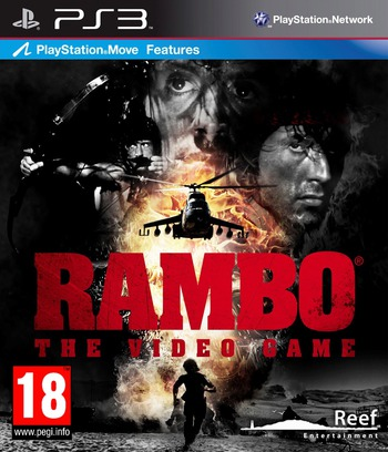 Rambo: The Video Game PS3 coverM (BLES01963)