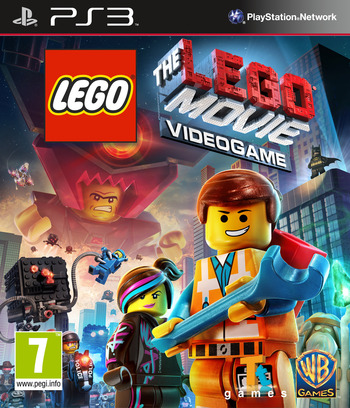 The LEGO Movie Videogame PS3 coverM (BLES01964)