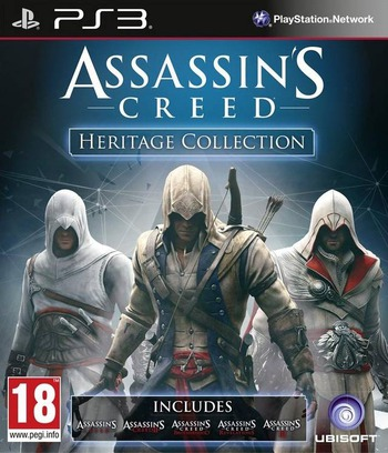 Assassin's Creed: Heritage Collection PS3 coverM (BLES01968)