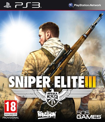Sniper Elite III PS3 coverM (BLES01981)