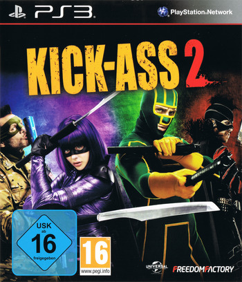 Kick-Ass 2 PS3 coverM (BLES01983)