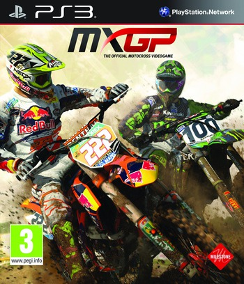 MXGP: The Official Motocross Videogame PS3 coverM (BLES01984)
