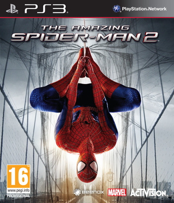 The Amazing Spider-Man 2 PS3 coverM (BLES01989)
