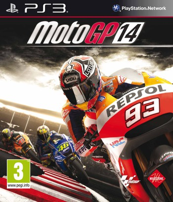 MotoGP 14 PS3 coverM (BLES01996)