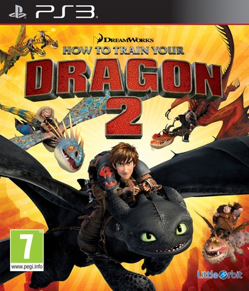 How to Train Your Dragon 2 PS3 coverM (BLES02005)