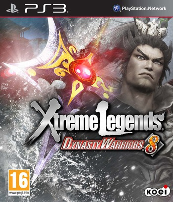 Dynasty Warriors 8: Xtreme Legends PS3 coverM (BLES02008)