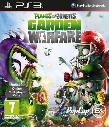 Plants vs Zombies: Garden Warfare PS3 coverM (BLES02021)