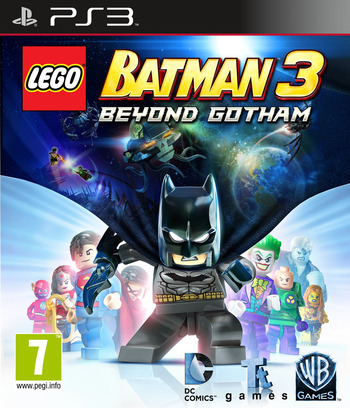 LEGO Batman 3: Beyond Gotham PS3 coverM (BLES02033)
