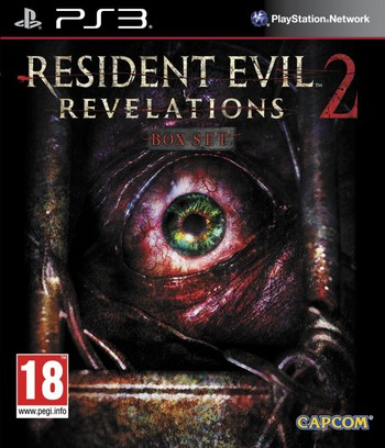 Resident Evil: Revelations 2 PS3 coverM (BLES02040)