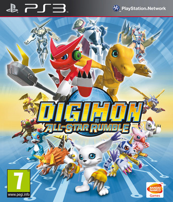 Digimon All-Star Rumble PS3 coverM (BLES02071)