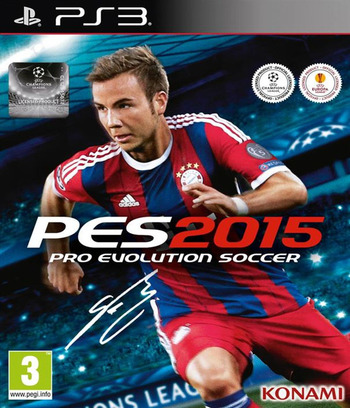 Pro Evolution Soccer 2015 PS3 coverM (BLES02088)