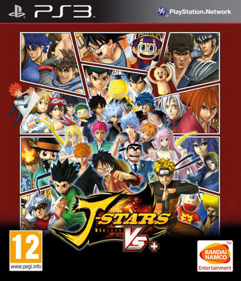 J-Stars Victory VS+ PS3 coverM (BLES02136)