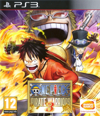 One Piece Pirate Warriors 3 PS3 coverM (BLES02140)