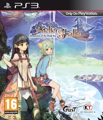 Atelier Shallie: Alchemists of the Dusk Sea PS3 coverM (BLES02143)