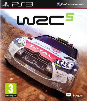 WRC 5 PS3 coverM (BLES02165)