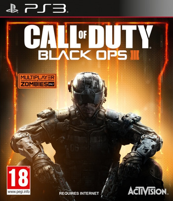 Call of Duty: Black Ops III PS3 coverM (BLES02166)